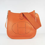 Hermes Evelyne Bag  6309  Orange
