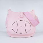 Hermes Evelyne Bag  6309 Pink
