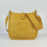 Hermes togo leather evelyne bag yellow 6309