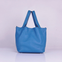 Hermes Picotin Bags togo Leather 8615 blue