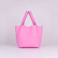 Hermes Picotin Bags togo Leather 8615 cherry pink