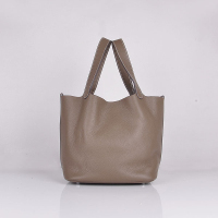 Hermes Picotin Bags togo Leather 8615 dark gray
