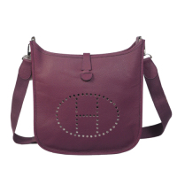 2014 Hermes Evelyne Bag A188 purple