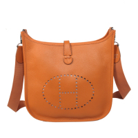 2014 Hermes Evelyne Bag A400 orange