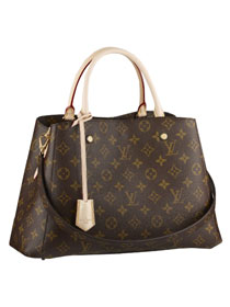 2014 Louis Vuitton monogram canvas montaigne bag mm m41056