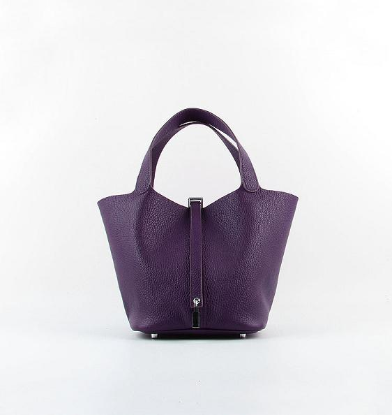 Hermes Picotin 18cm Bags togo Leather 8615 purple