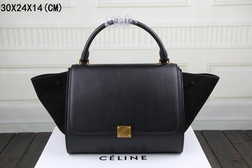Celine Trapeze Bag Original Leather 3342-1 black