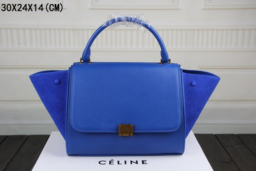 Celine Trapeze Bag Original Leather 3342-1 brilliant blue
