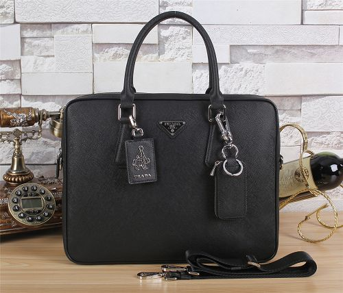 Prada winter best-selling model original leather F003 black