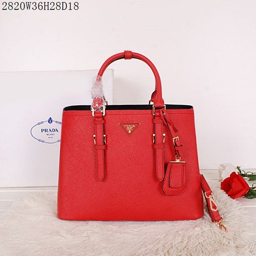 2015 Prada spring and summer new models 2820 red