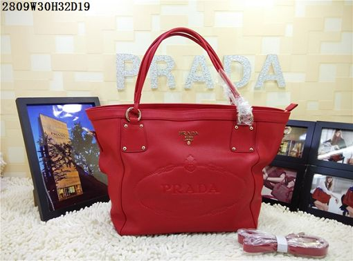 2015 Prada new model 2809 red