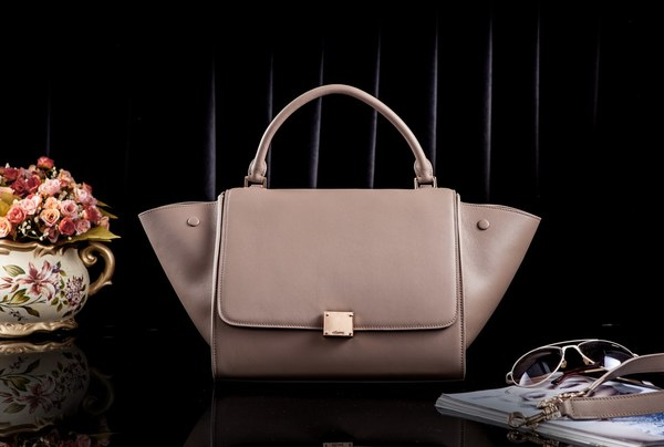 Celine Trapeze Bag Original Leather 3342 Khaki