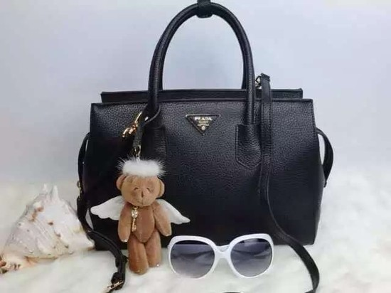 2015 Prada tote bag 2278 Black
