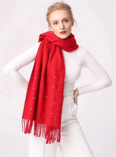 2017 top quality Chanel scarf 2930 red