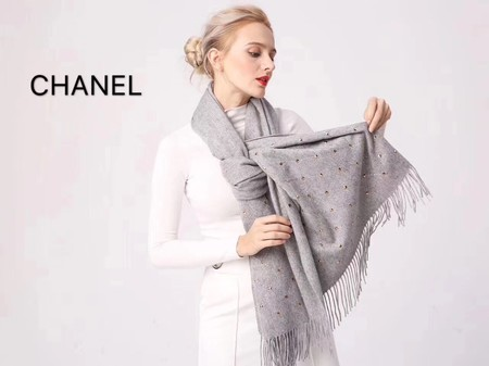 2017 top quality Chanel scarf 2930 gray