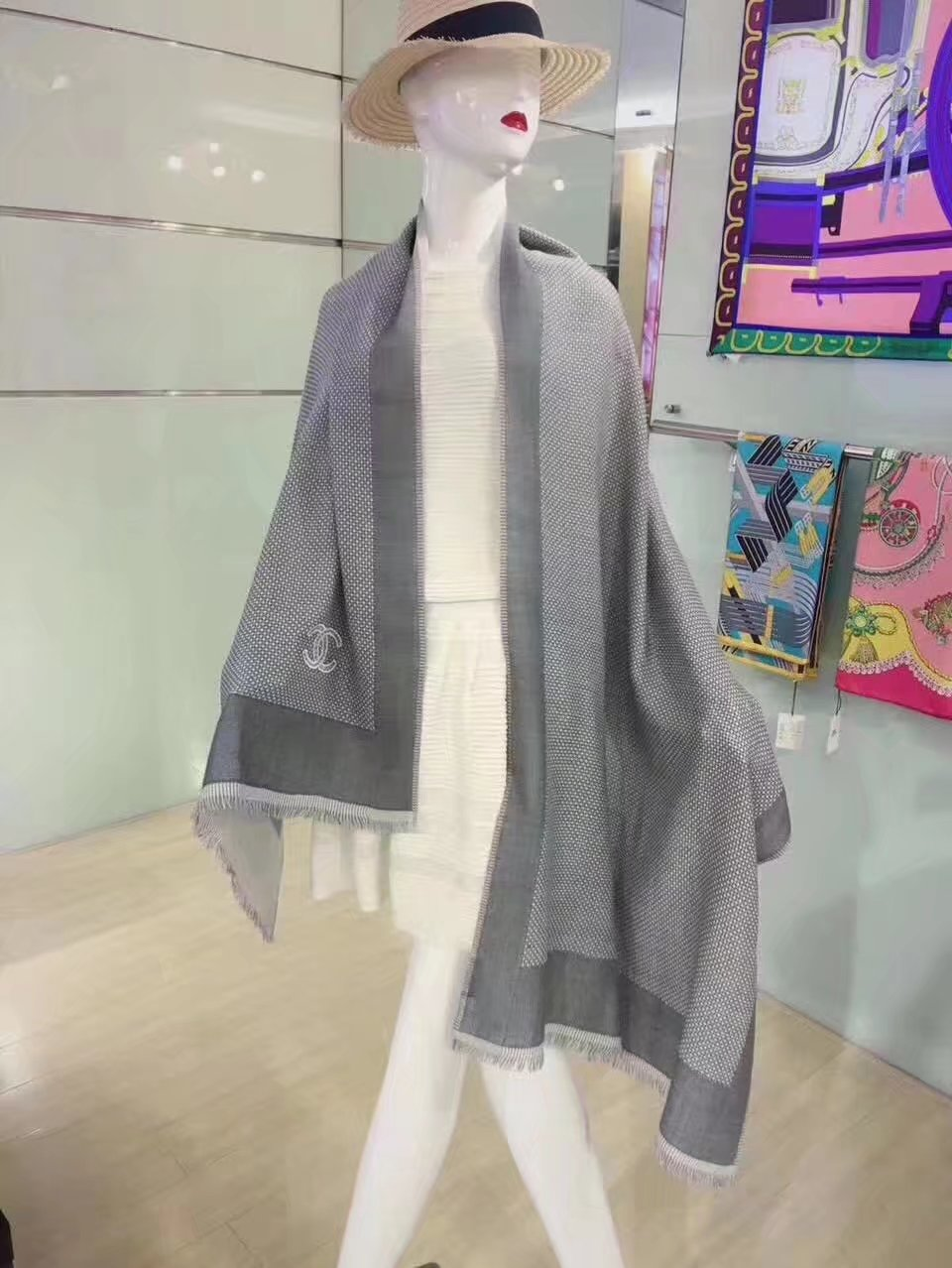 top quality Chanel scarf C91912-1