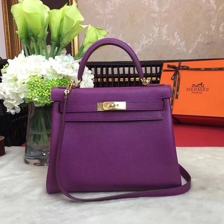 97fc71ca76db ... discount code for hermes kelly ky32 tote bag togo original leather  purple gold hardware b2a84 7bc99