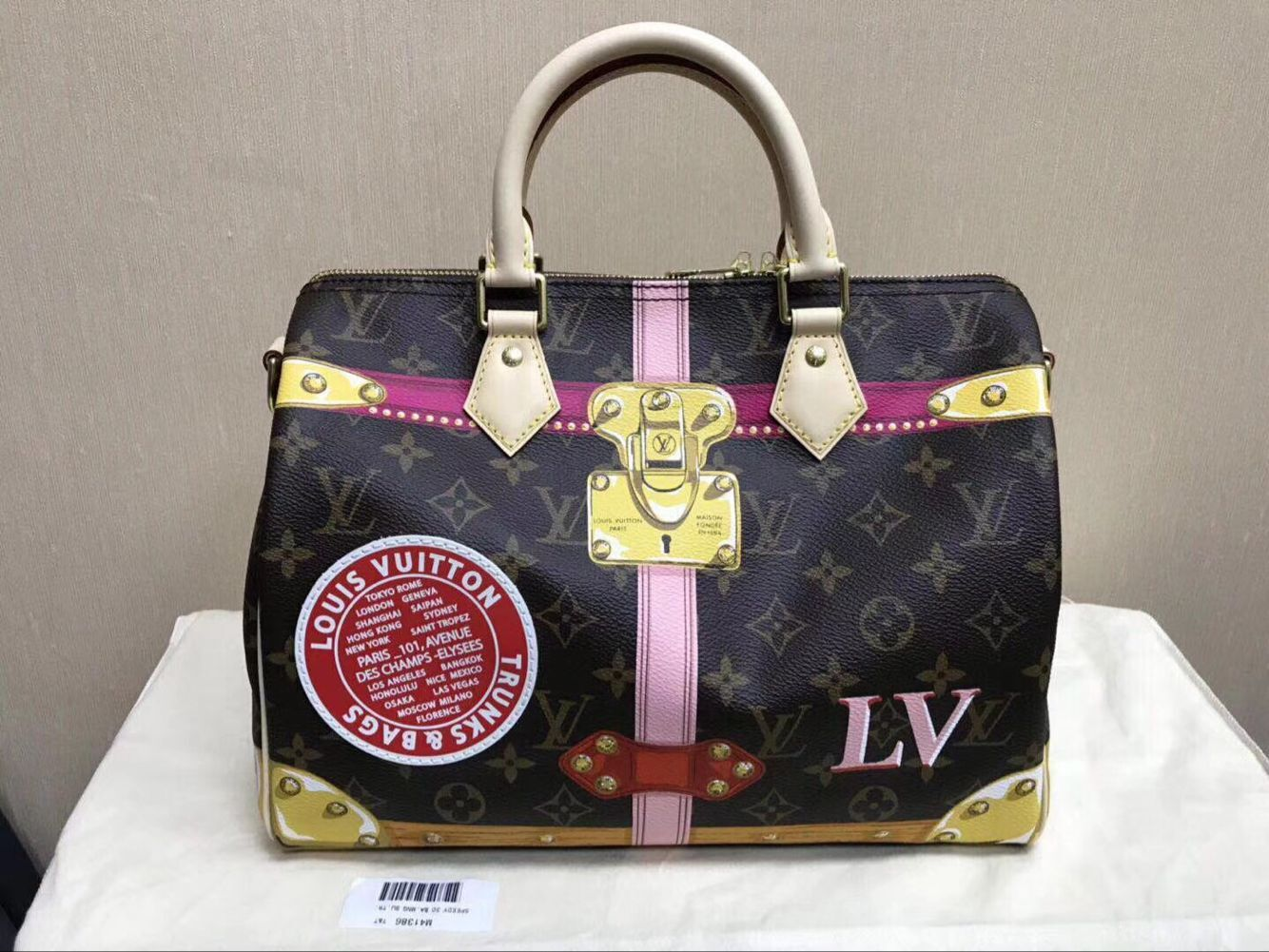 Neu Louis Vuitton Bandouliere Summer Trunks 2018 original speedy 30 B41112