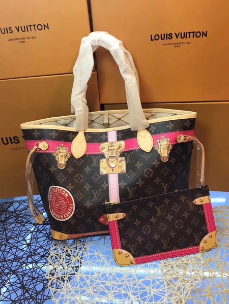 Louis Vuitton Monogram Canvas Neverfull MM M41390