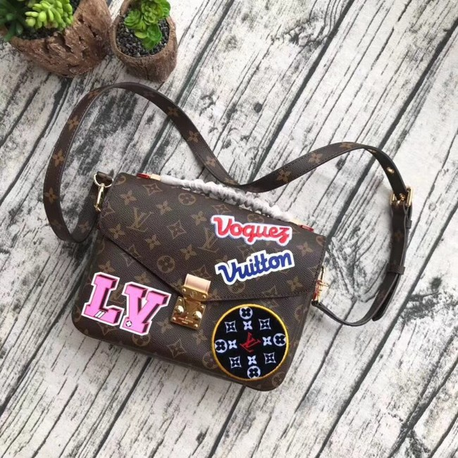Louis vuitton original monogram canvas POCHETTE METIS M43991