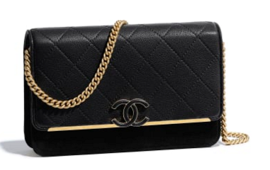 Chanel Wallet on Chain Original A70641 black
