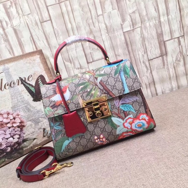 Gucci GG canvas top quality tote bag 453188 red