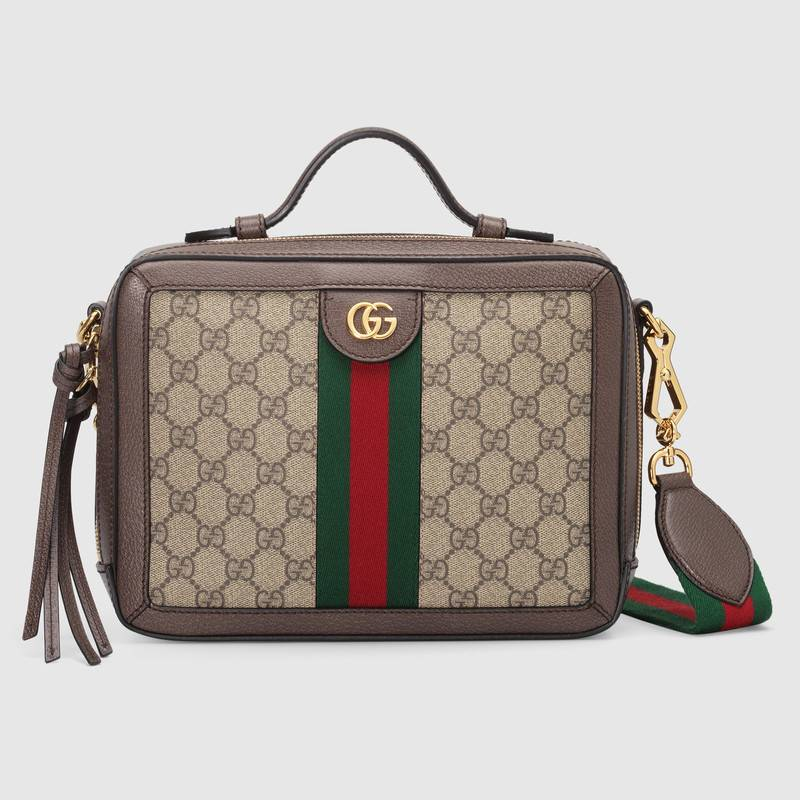 Gucci Ophidia small GG shoulder bag 550622 brown