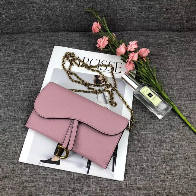 DIOR WITH CHAIN bag 26955 pink
