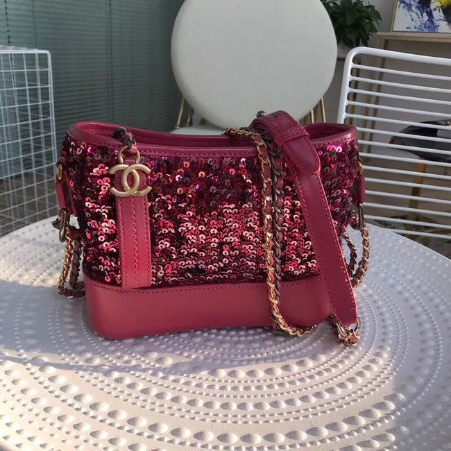 Chanel gabrielle small hobo bag A91810 rose