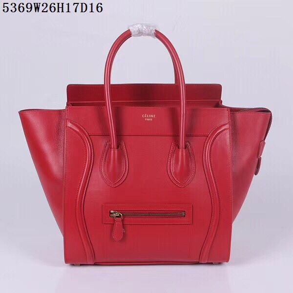 Celine Luggage Micro Tote Bag CLY5369 Red
