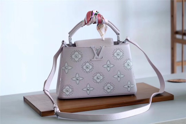 Louis vuitton CAPUCINES BB M48865 pink