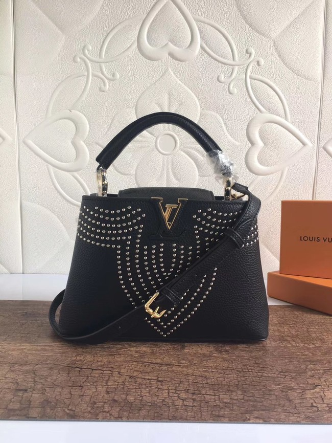 Louis vuitton CAPUCINES BB M53216 Black