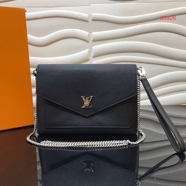 Louis Vuitton MYLOCKME Chain bag M63926 black