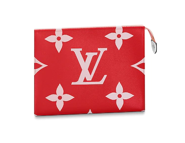 Louis Vuitton TOILET POUCH XL M67692 Rouge
