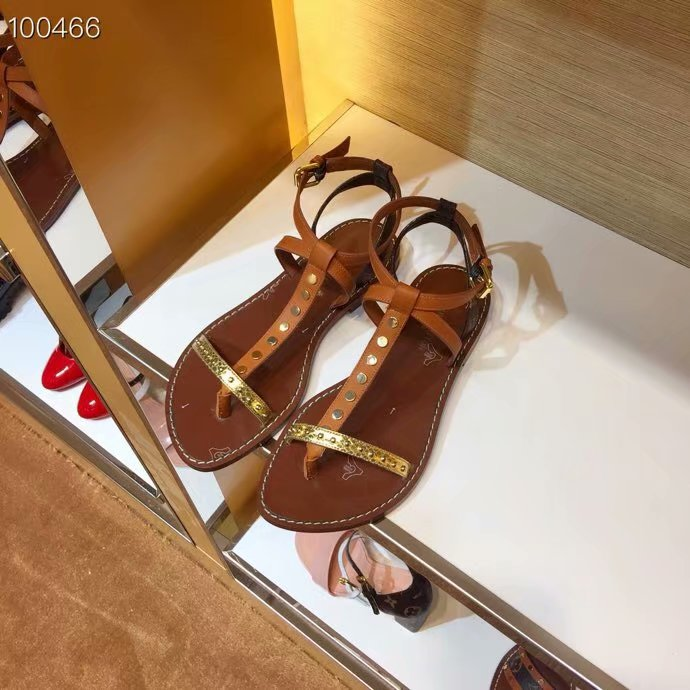 Louis Vuitton lady leather Sandals LV950SY-1