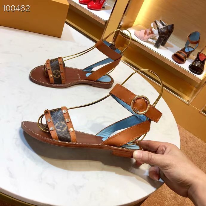 Louis Vuitton lady leather Sandals LV951SY-1