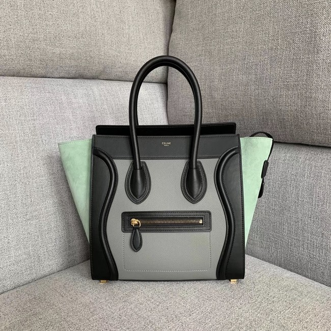 Celine Luggage Boston Tote Bags All Calfskin Leather 189793-9