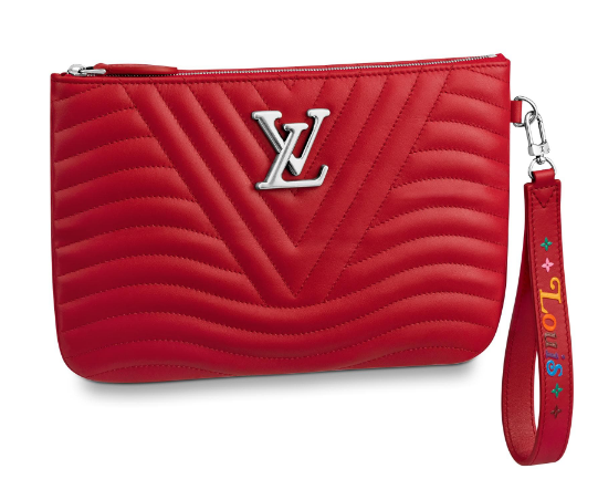 Louis Vuitton NEW WAVE Zipper Clutch bag M67500