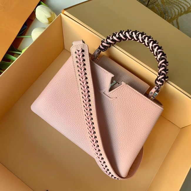 Louis Vuitton CAPUCINES BB M55236 pink