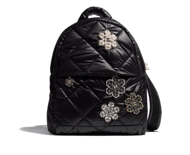 Chanel Original Backpack AS1025 black