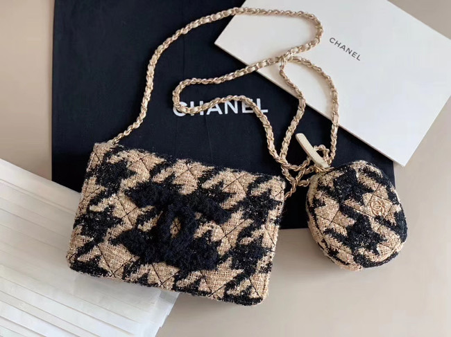 Chanel 19 Chain Wallet and zero wallet AP0988