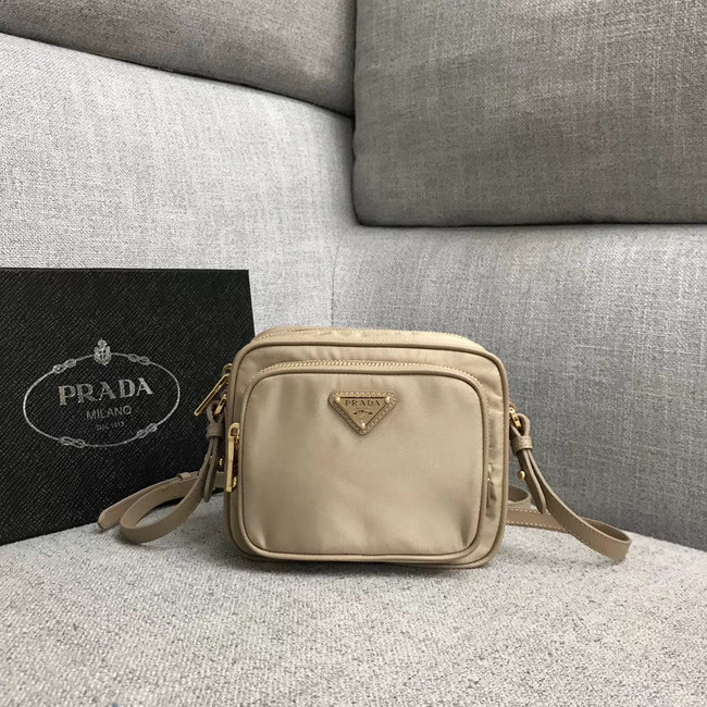 Prada Nylon Shoulder Bag 82022 apricot