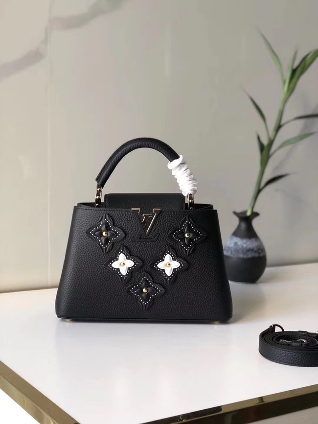 Louis Vuitton CAPUCINES BB M48865 black