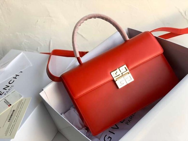 Givenchy Calfskin tote 2020 red