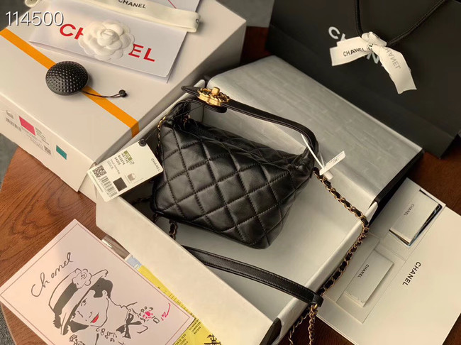 Chanel Small hobo bag AS1745 black