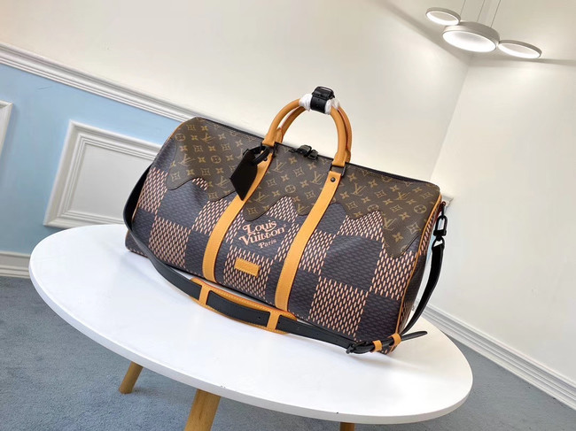 Louis vuitton KEEPALL BANDOULIERE 50 travel bag M40360