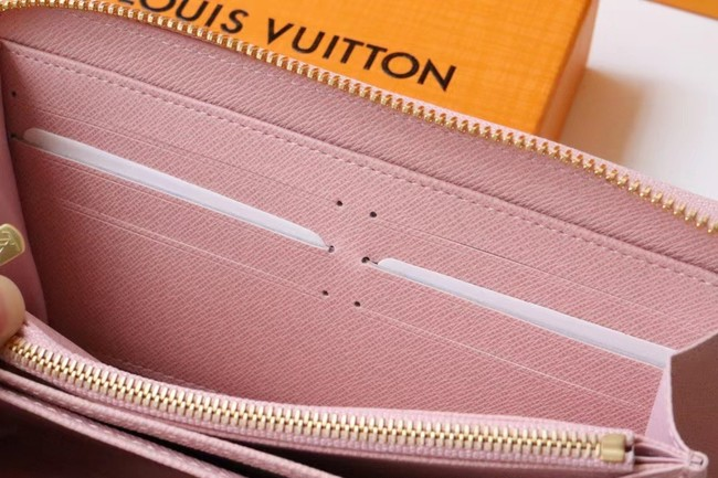 Louis Vuitton ZIPPY WALLET M80361 pink