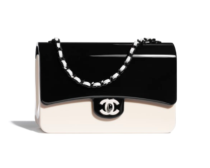 chanel evening bag AS2513 Black & White