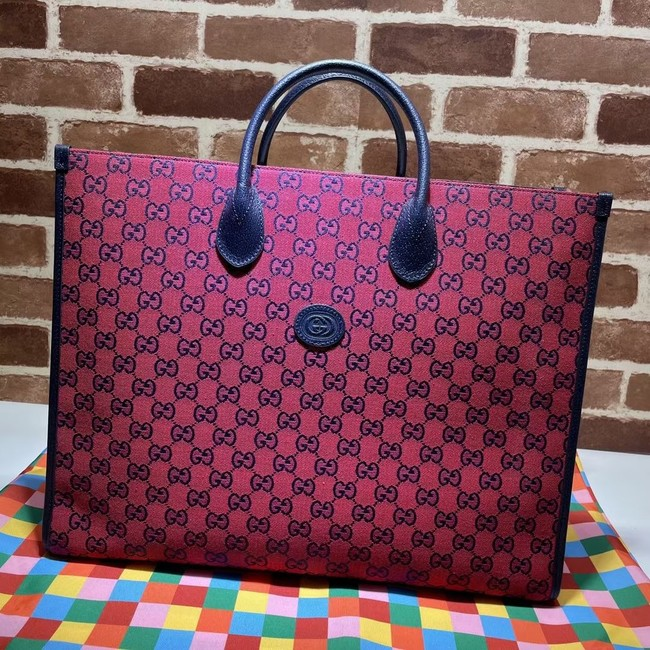 Gucci GG shopping bag 659980 red