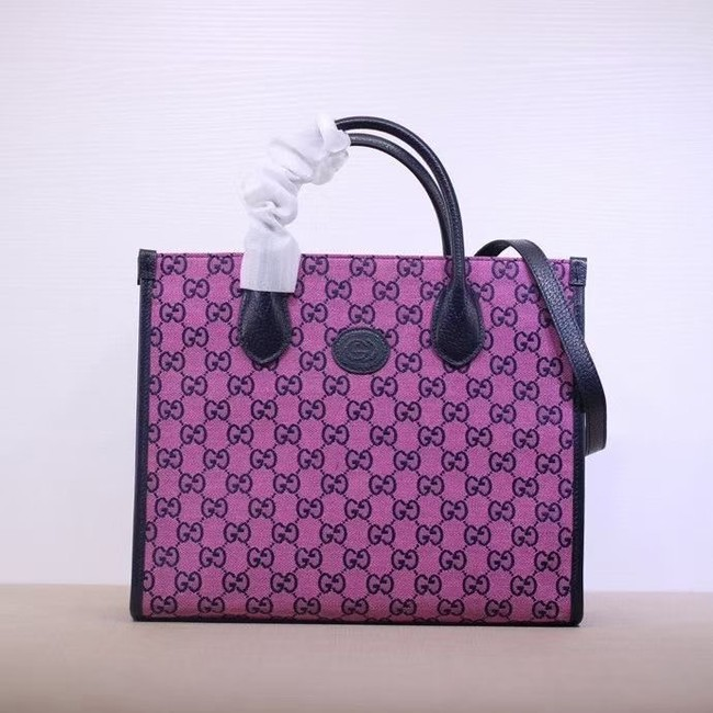Gucci GG small tote bag 659983 pink